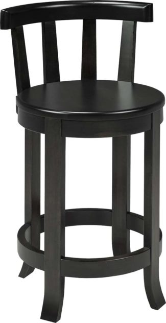 Barrel Stool with Back